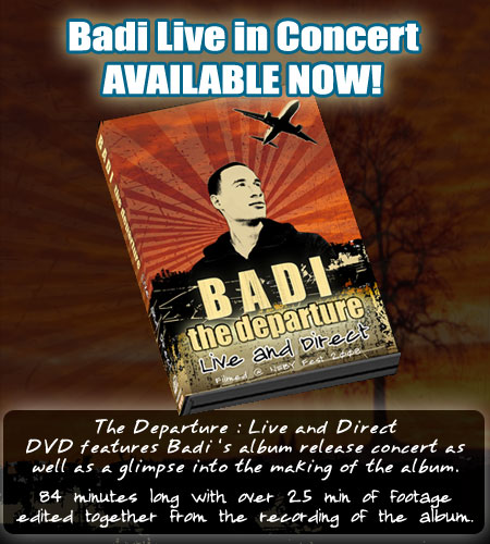 neby 2008 dvd1 Badi   The Departure: Live & Direct Live DVD Released